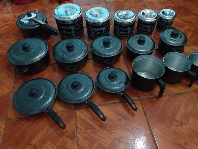 Kit de panelas de alumínio  - Foto 3