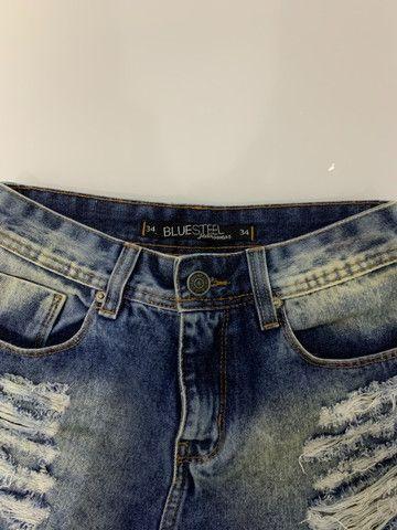 Short hot pants cintura alta - Foto 5