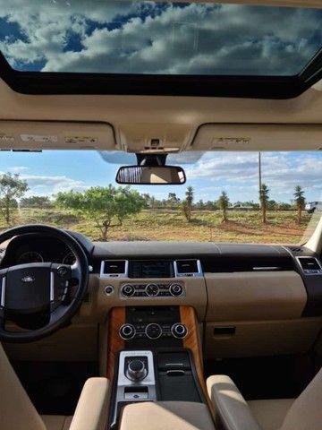 Range Rover Sport SE 3.0 4x4 TDV6 Diesel/ impecável/ revisada/ pneus novos - Foto 9
