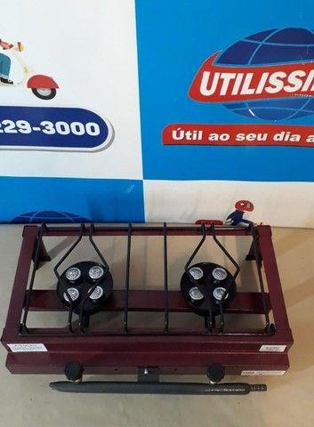 Fogão a Gás Alta Pressão 2 Bocas de mesa - Foto 5
