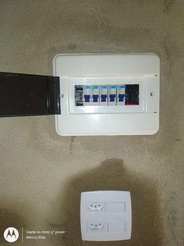 Eletricista- Portão eletrônico- alarmes- câmeras- concertina - Foto 5