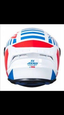 Vendo capacete Axxis Draken 96 - Foto 2