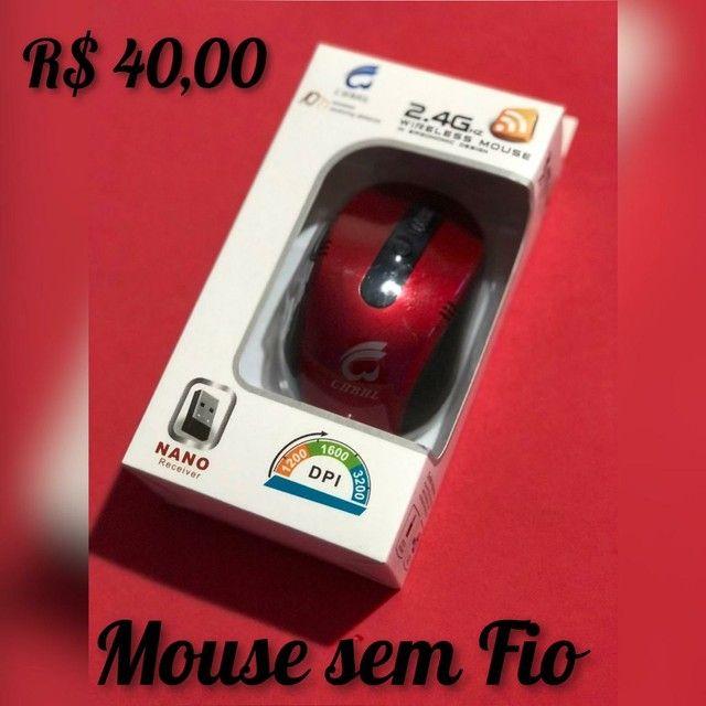 Mouse Sem Fio Simples.