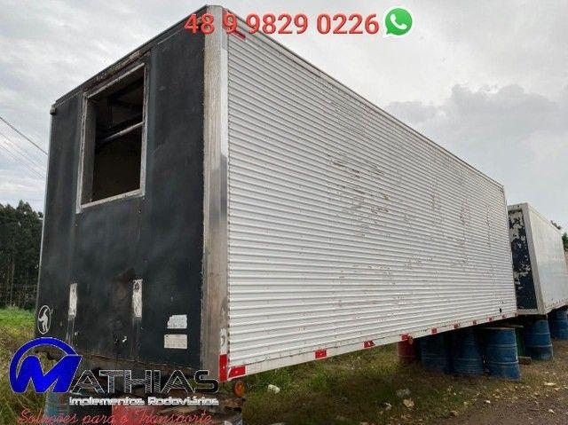 Baú frigorífico 14 paletes Comprimento 7,60m repasse  - Foto 3
