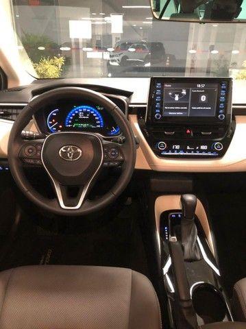 Imperdível!!! Toyota Corolla Altis Premium Hybrid 1.8AT 2021 com apenas 6 mil km! - Foto 15