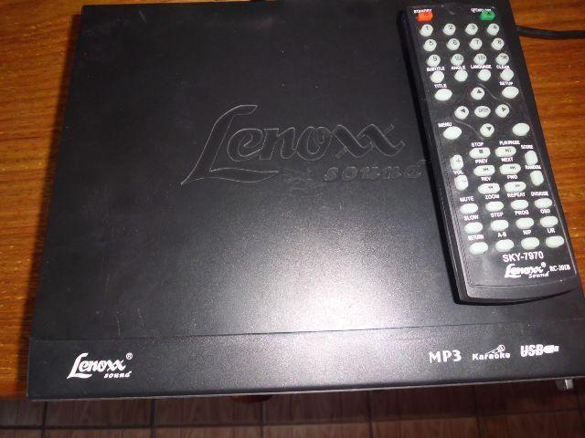 V.en.d.o. aparelho de dvd lenoxx
