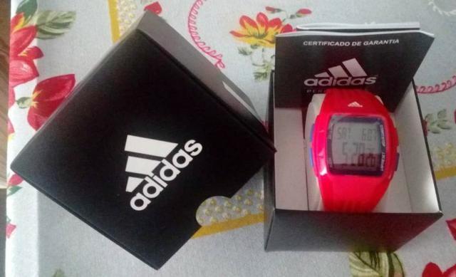 599e97d7cd6 Relógio Masculino Adidas Digital Esportivo  novo