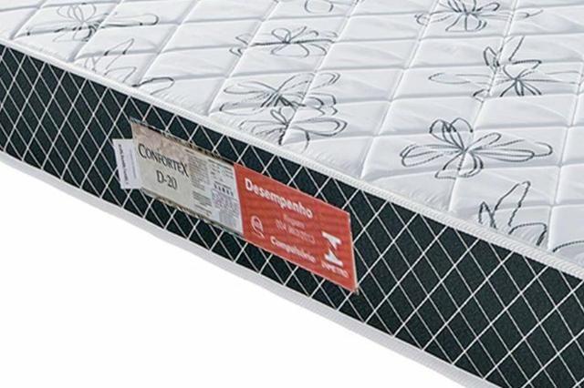 Colchão solteiro D20 Confortex CSC01 - Foto 2