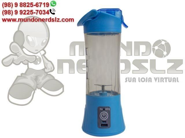 Mini Liquidificador Portátil Recarregável Juice Cup em São Luís MA - Foto 5