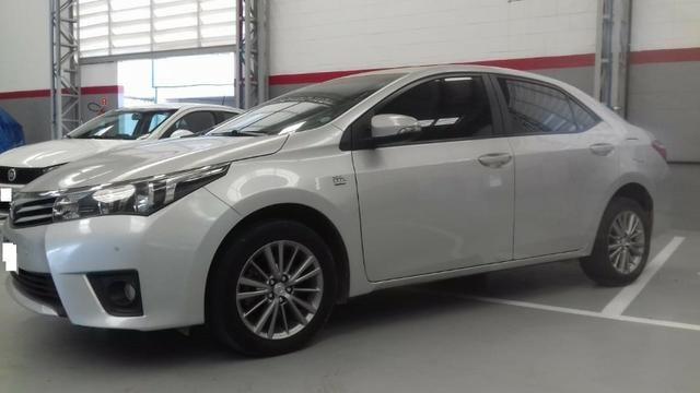 Toyota Corolla xei at muito novo, bancos de couro bege claro, um luxo de carro - Foto 3