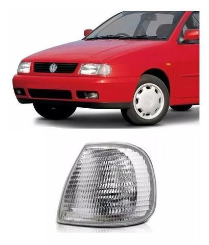 Pisca Lanterna Dianteira Cristal Polo 1997 98a 2000 Esquerdo