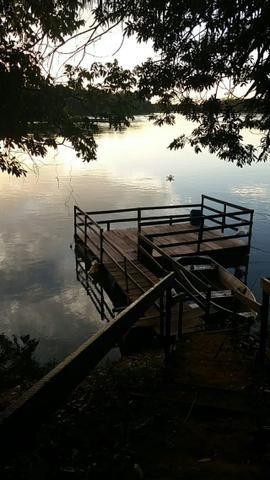 Chácara dentro da cidade,beira do Rio Cuiabá,casa grande,quiosque, deck p pesca,tanque. - Foto 17