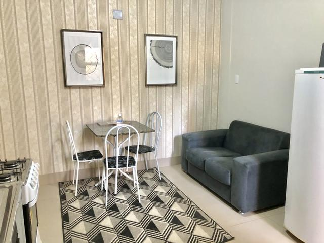 Flat Kitnet apartamento de 1 quarto mobiliado - Foto 6