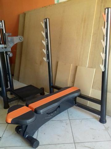Academia Completa Equipamentos de Musculação Newlife Premium - Foto 3