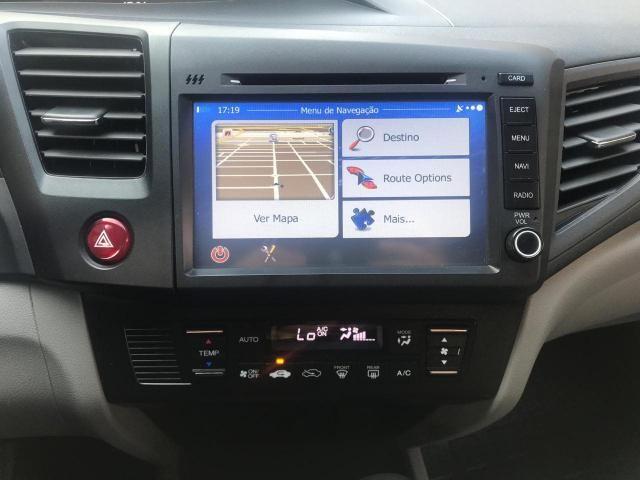 HONDA CIVIC 2014/2015 1.8 LXS 16V FLEX 4P AUTOMÁTICO - Foto 10