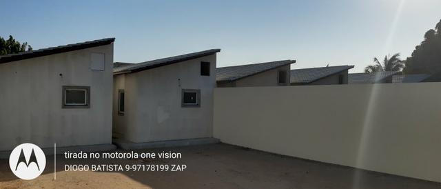 Casa plana no eusébio com terreno grande - Foto 18