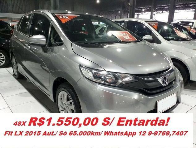 Honda Fit LX 1.5 Automatico CVT/ Nova Serie