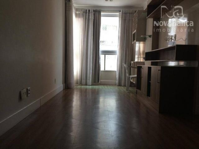Apartamento com 3 quartos para alugar, 85 m² por R$ 1.500/mês - Itapuã - Vila Velha/ES - Foto 4