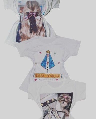 Kit 3 T-shirts