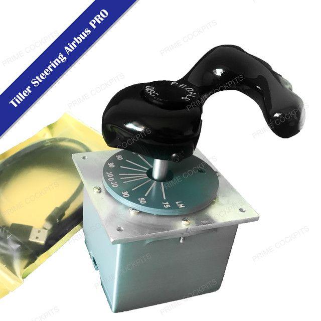 Tiller Steering para simulador de voo - Foto 2