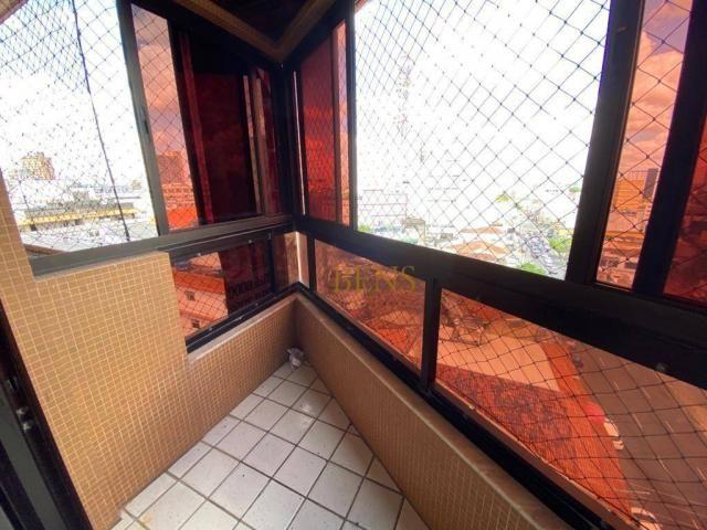 Apartamento com 4 quartos - venda por R$ 480.000 ou aluguel por R$ 2.000/mês - Centro - Ca - Foto 12
