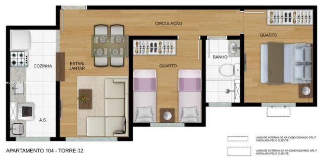 Apartamento para Venda em São Paulo, Cidade São Mateus, 2 dormitórios, 1 banheiro, 1 vaga - Foto 11