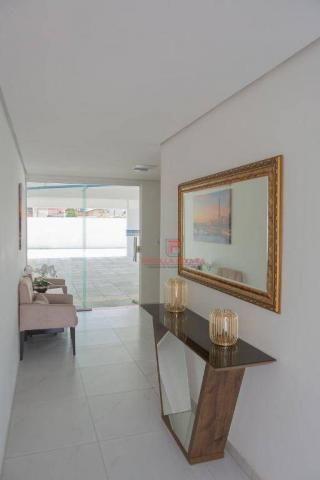 Apartamento 3 quartos no Bessa com varanda gourmet e área de lazer - Foto 6