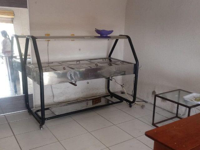 Buffet self service para restaurantes quente 11 Cubas