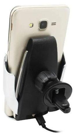 (NOVO)Suporte smart sensor car wireless charger S5 - Foto 3