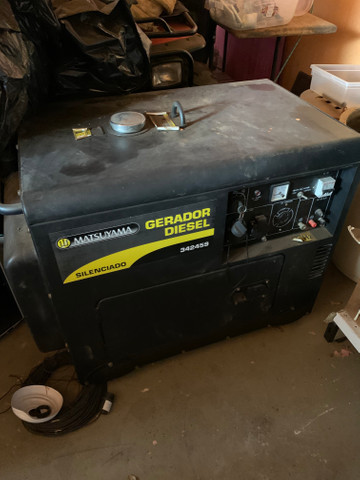 Gerador a Diesel Matsyuama 6KVA - Foto 2