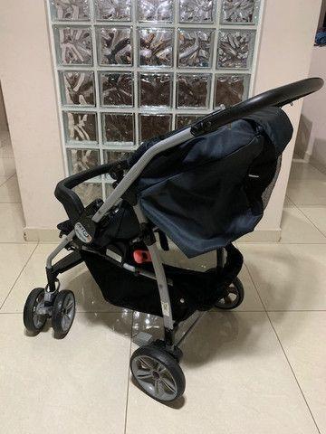 Carrinho de bebê + Bebê conforto Burigotto - Foto 3