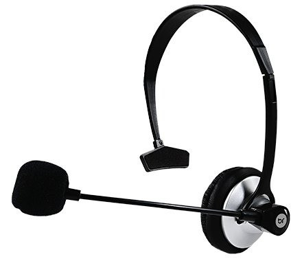 Fone de ouvido com microfone Headset RJ12 - Foto 3