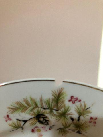 Jogo de jantar 39 peças em porcelana Steatita - Foto 6