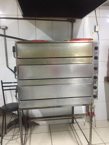 Forno para pizzaria superpotente - Foto 3