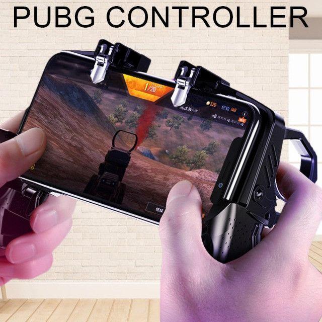 Controle Suporte Joystick Gatilho Para Celular K21 - Foto 4