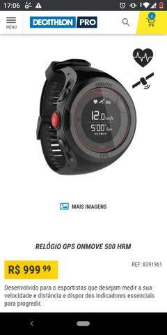 RELÓGIO GPS ONMOVE 500 HRM - Foto 4