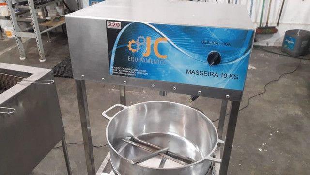 Masseira a gas para massa de salgado - Foto 5