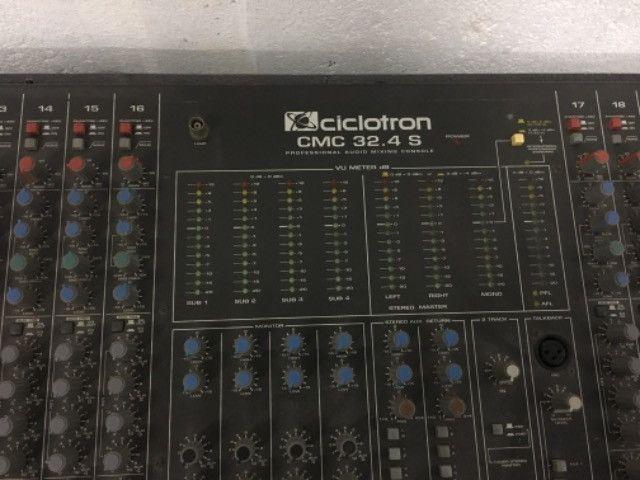 Mesa de som ciclotron 24 canais - Foto 3