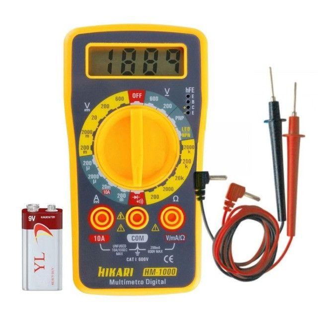 Multímetro Digital - Hm-1000 - Hiraki - Caruaru (PE)