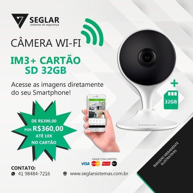 Câmera Mibo - IM3 - com Cartão de memoria