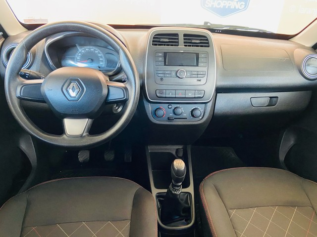 Renault kwid 1.0 2018 - aceito moto na troca - Foto 6
