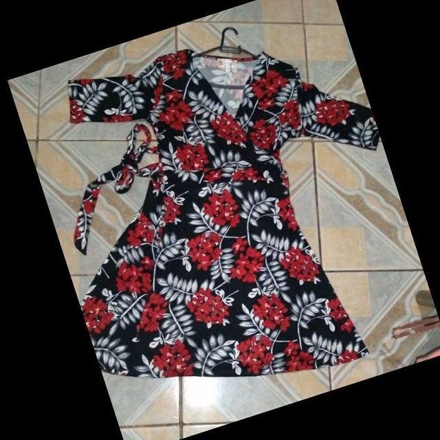 Vendo vestidos pra grávidas M e G - Foto 4