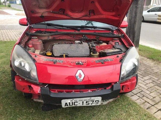 Renault Sandero EXP1016V, Vermelho, 2011/2012 - Foto 8