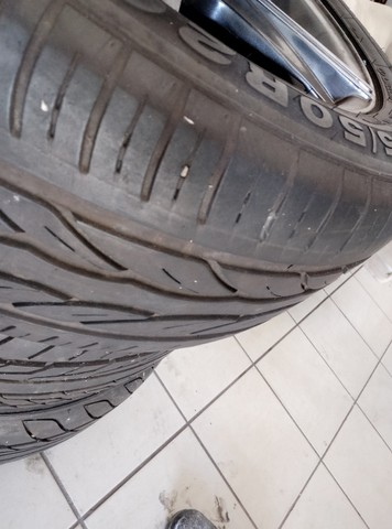 Rodas e pneus aro 20 - Foto 2