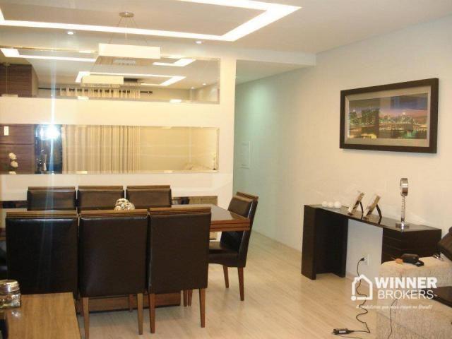 Lindo apartamento mobiliado à venda no novo centro de Cianorte! - Foto 5