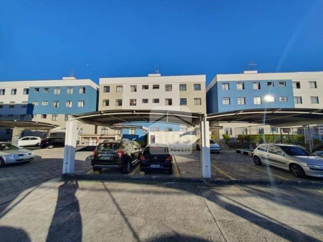 Apartamento com 3 dormitórios à venda, 52 m² por R$ 159.000,00 - Fazendinha - Curitiba/PR - Foto 9