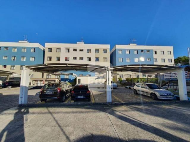 Apartamento com 3 dormitórios à venda, 52 m² por R$ 159.000,00 - Fazendinha - Curitiba/PR - Foto 8