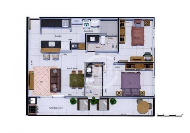 Cobertura com 2 dormitórios à venda, 81 m² - Nova São Pedro - São Pedro da Aldeia/RJ - Foto 16