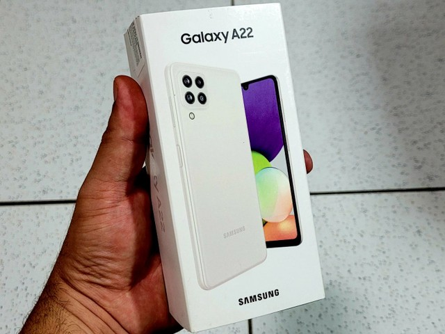 Galaxy A22 128GB LACRADO!!!