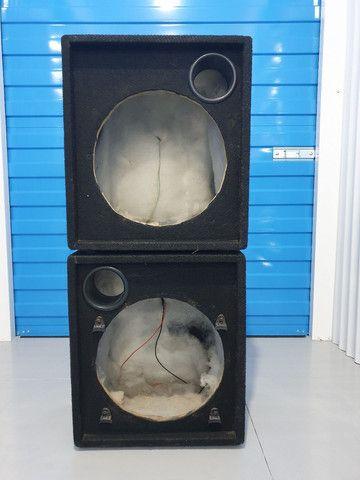 Caixas de subgrave vazias (Cubo)